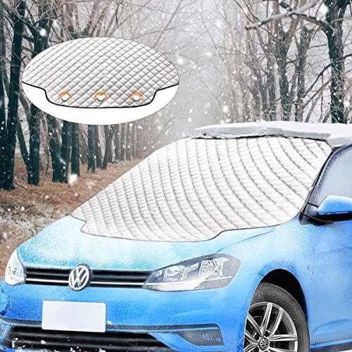Frostschutz Abdeckung Windschutzscheibe Test