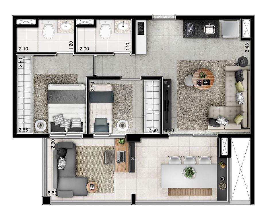 planos de casas zona oeste