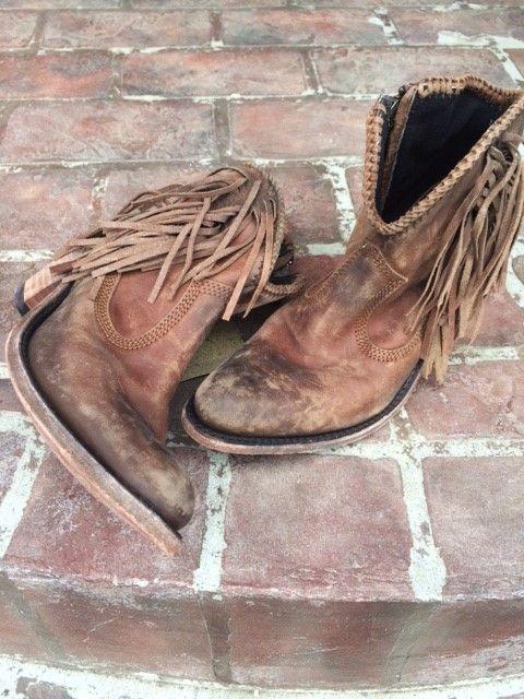 96d131a1cd0 Liberty Black Short Fringe Booties | Liberty Black Boots | Fringe ...