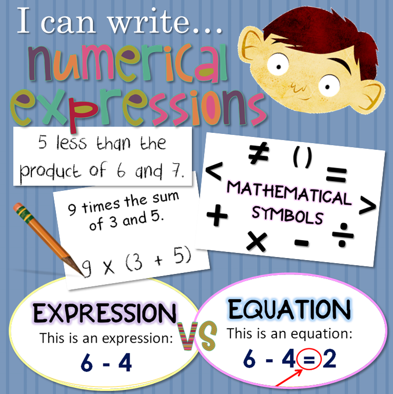 This Week We Are Working On Writing And Interpreting Numerical Expressions In Math 5 Oa 2 Check Out Our La Math Expressions Writing Expressions Math Writing