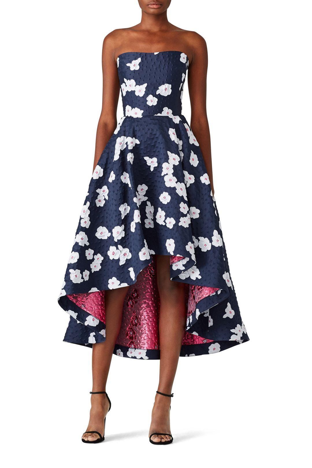 Shoshanna Paladina High Low Dress Black Tie Wedding Guest Dress Spring Wedding Guest Dress Wedding Attire Guest [ 1620 x 1080 Pixel ]