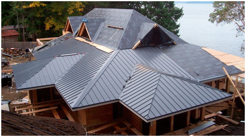 Metal roofing is process of roofing which can be done by