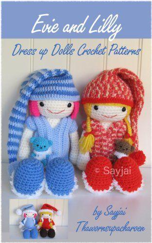 Dress Up Dolls Amigurumi Crochet Patterns - Crochet Pattern Book | Haken,  Knuffel | 500x313