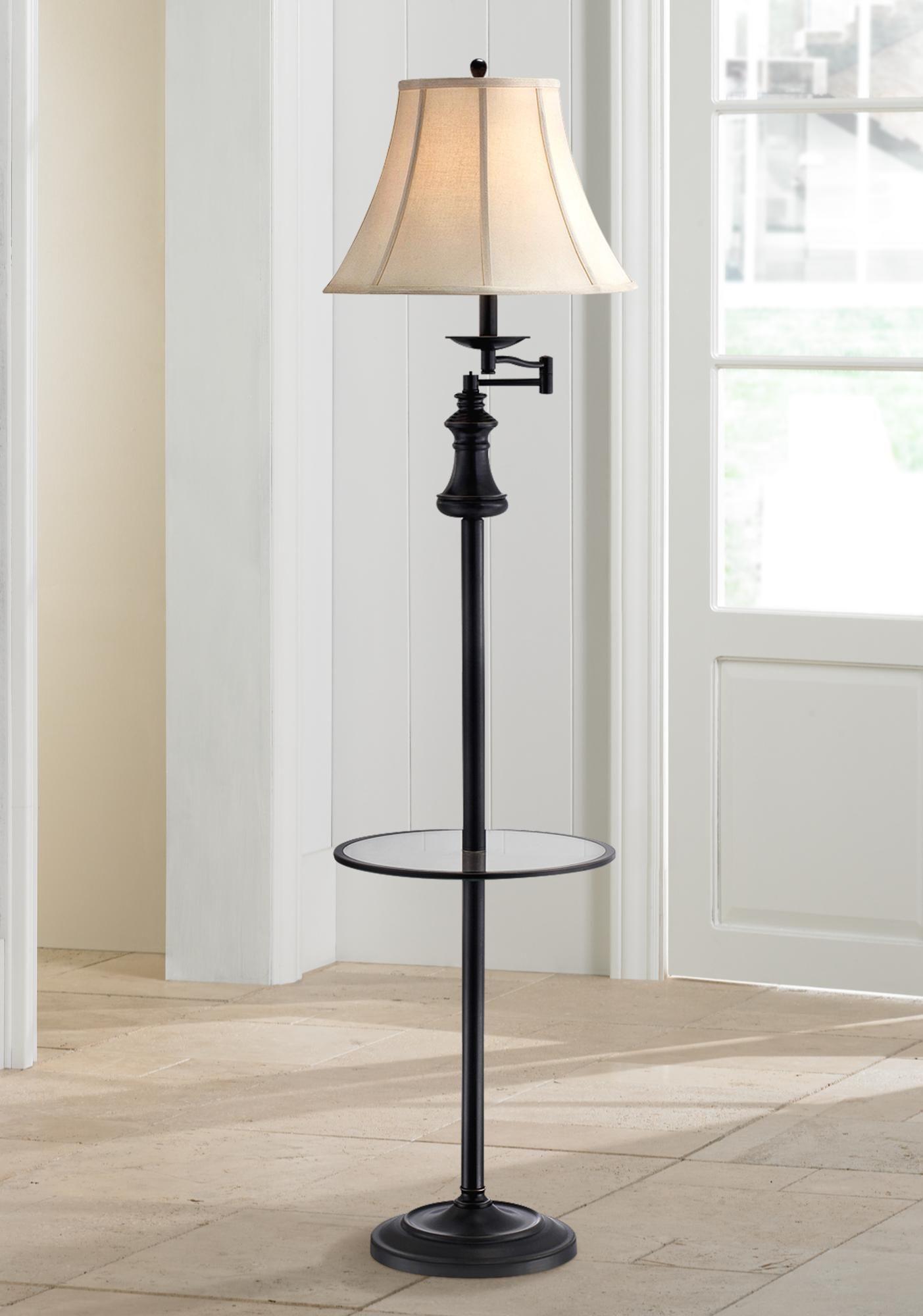 Lite source brandice swing arm floor lamp with table tray sarah lite source brandice swing arm floor lamp with table tray geotapseo Gallery
