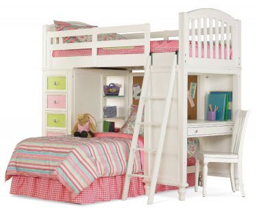 Loft Bed Girls Bunk Beds Bunk Bed With Slide Bunk Bed Designs