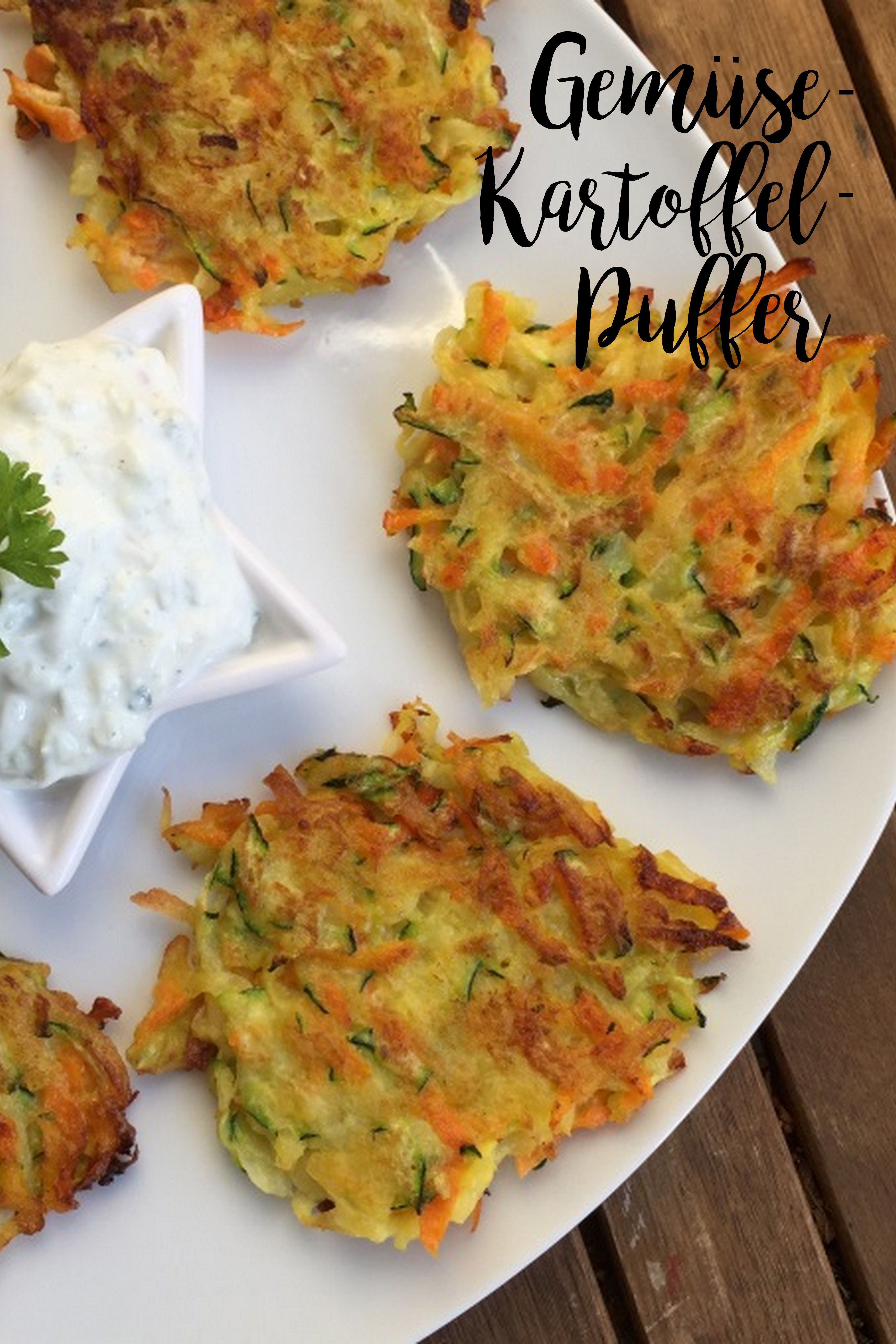 Photo of Vegetables and potato cakes