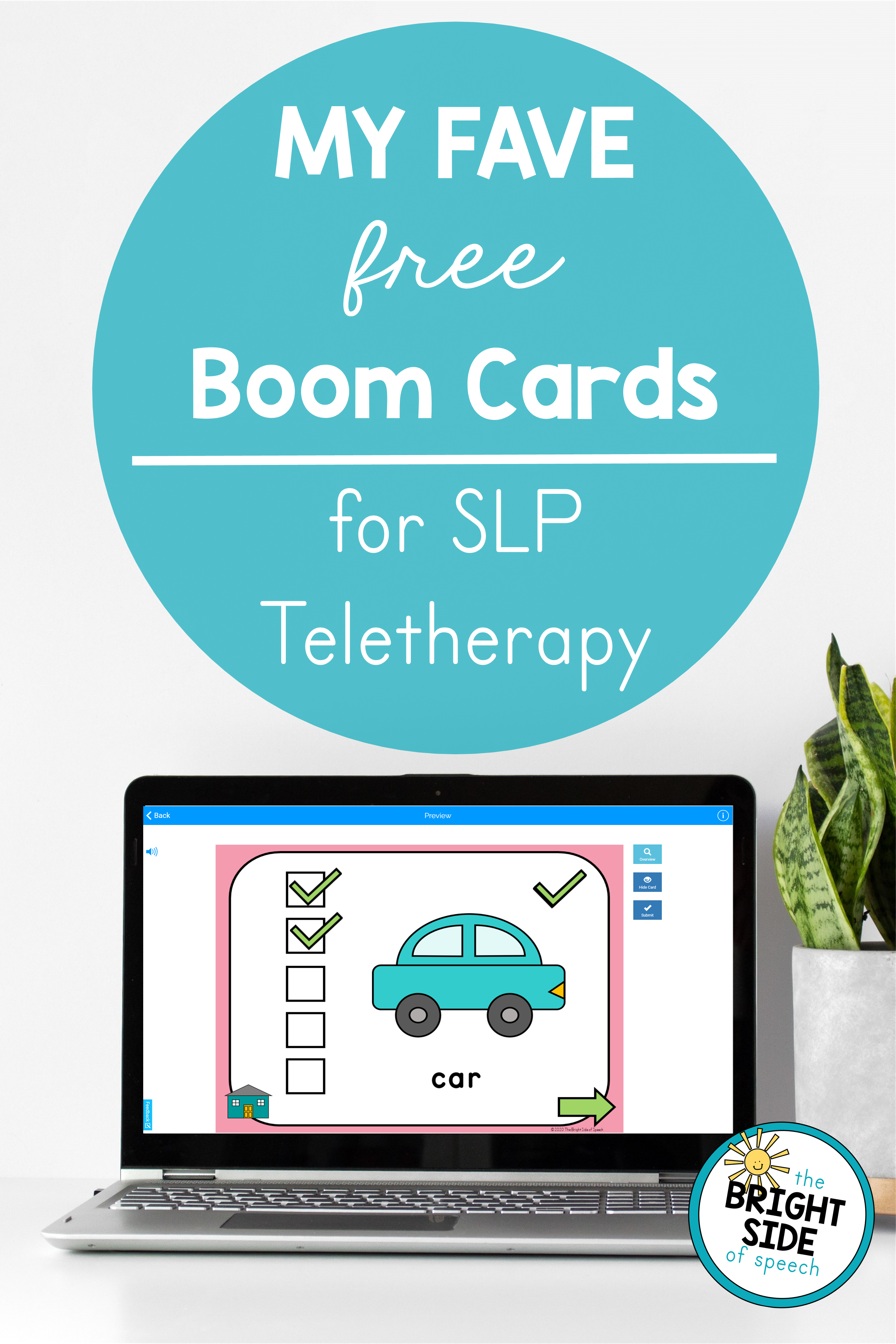 Using Boom Cards in Teletherapy + Tons of Free Resources