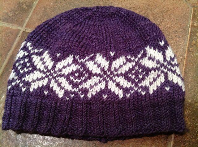 Ravelry: Basic Knit Hat pattern by Cynthia Miller   fair isle head ...