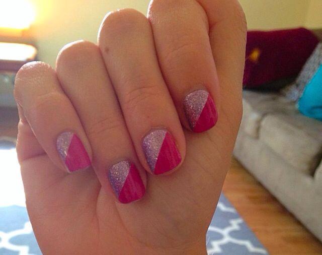 Pretty in Pink www.samsjamsnails.jamberrynails.net