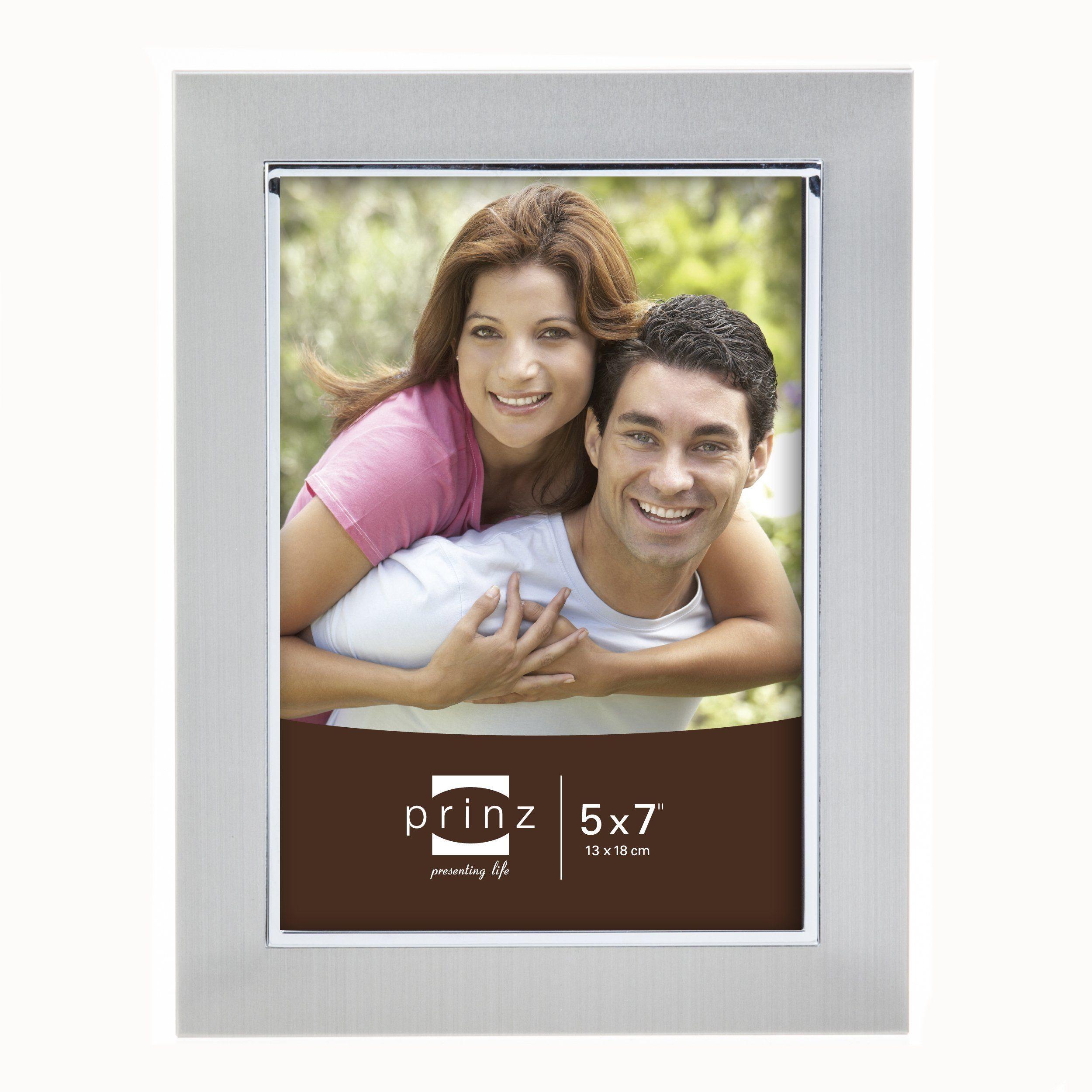 5x7 Beldon Matte Silver Metal Frame   Products   Pinterest