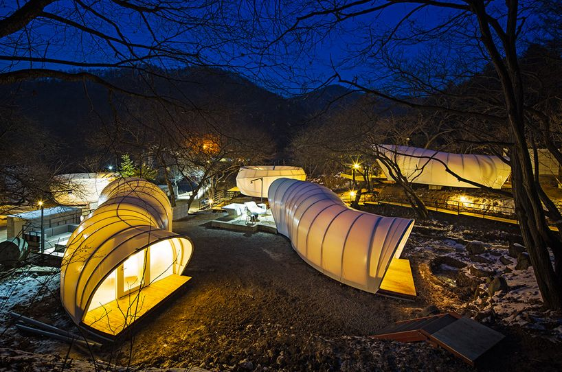Glamping For Glampers Doughnut Shaped Tent Village By