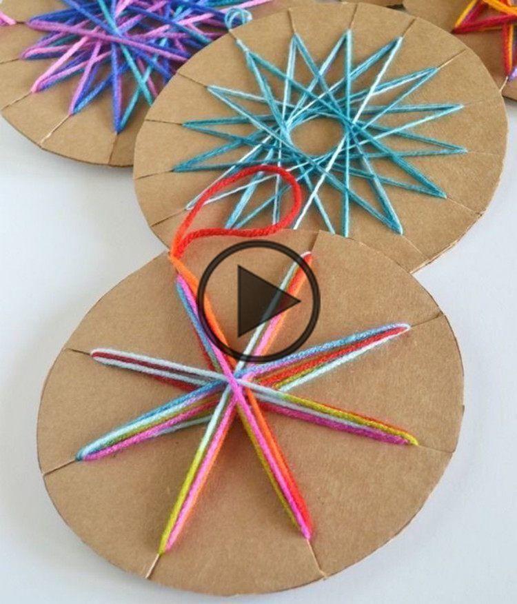 activité manuelle de Noël - 15 brillantes idées de bricolage de Noël de 3 à 99 ans! - #activity