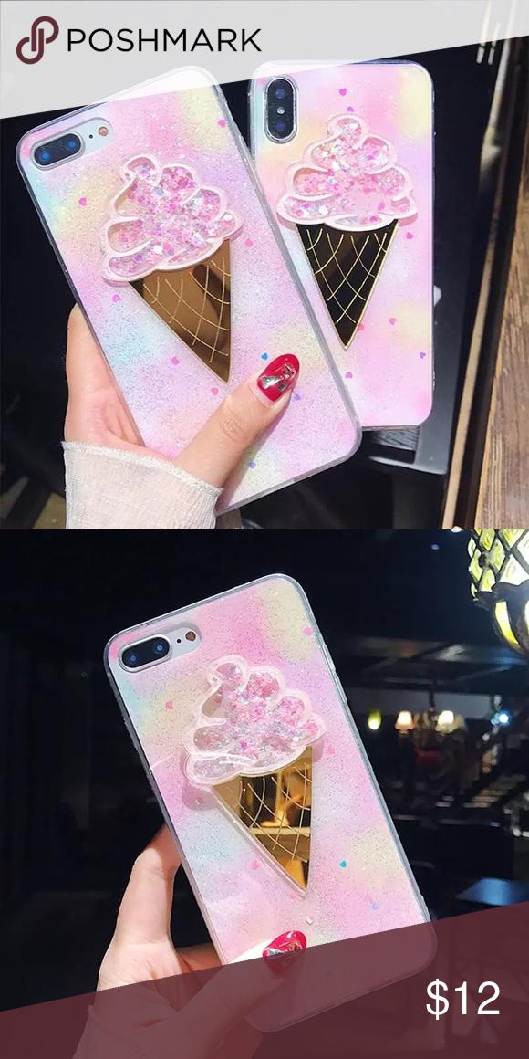 Ice Cream Cone iPhone Case💕 Pink Ice Cream Cone Case 8