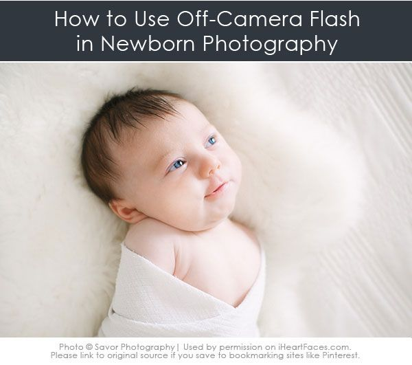 5 simple tips to get started using off camera lighting in your newborn photography sessions via iheartfaces com