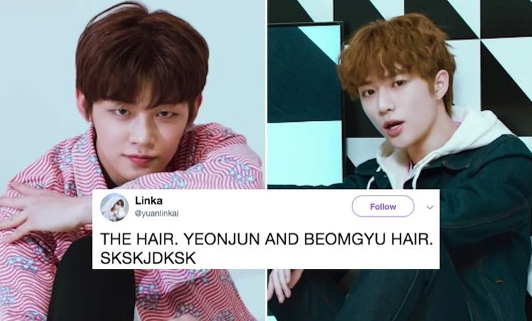 Txt S Yeonjun Beomgyu Are Rocking New Hair Colors That Have Fans Weak In The Knees New Hair Colors Hair Color Weak In The Knees