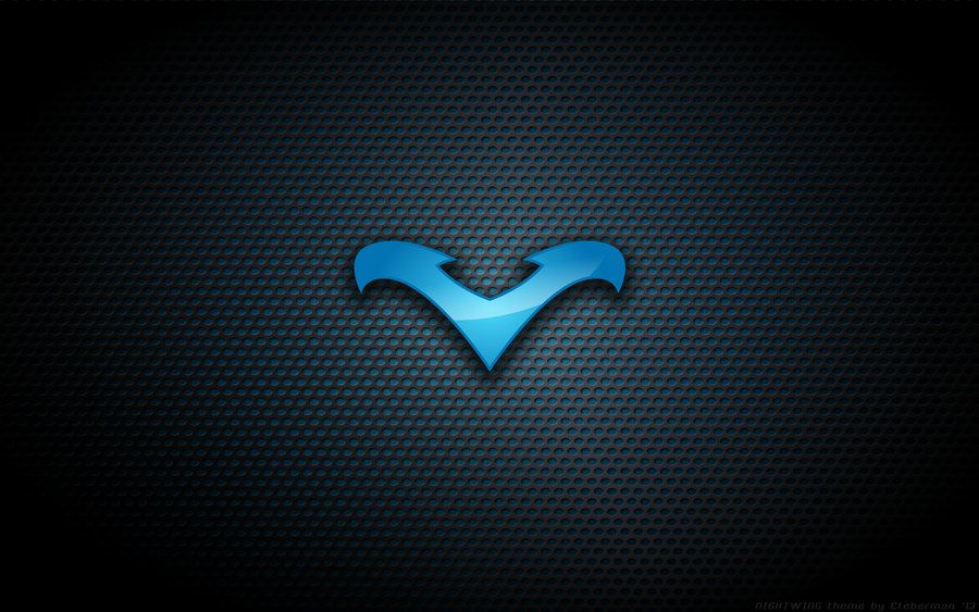 Blue Nightwing Logo Background By Kalangozilla On Da Nightwing