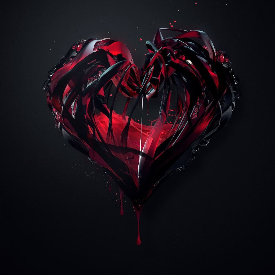 Bleeding Heart Heart Wallpaper Broken Heart Tattoo Dark Love