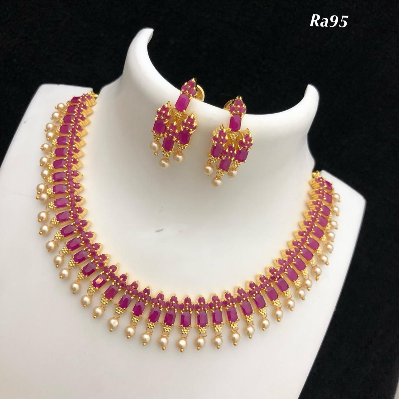 Fancy Lights Shops In Hyderabad: Temple Jewellery Available At AnkhJewels For Booking Msg