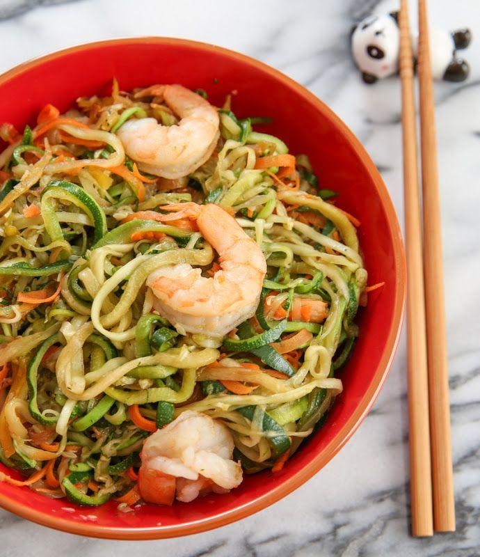Stir Fried Zucchini Noodles   Kirbie's Cravings   A San Diego food & travel blog