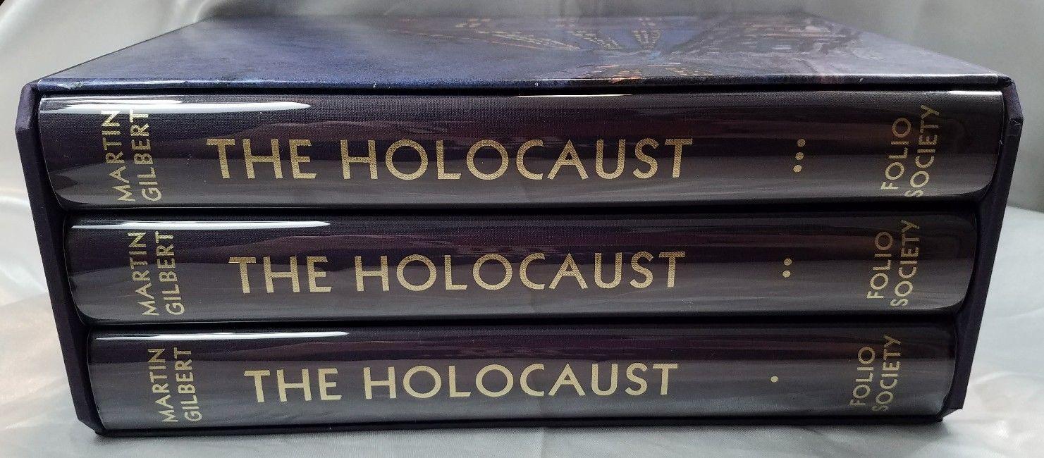 Martin Gilbert The Holocaust 3 Volume Set Folio Society Slipcase Cover Protector | eBay