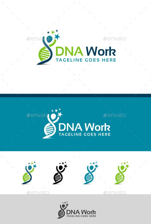 This Logo Is Best For Dna Science Genetics And Research Related