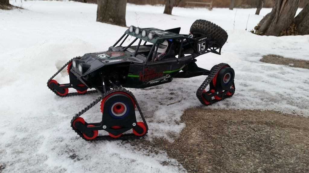 Snow Tracks For Trucks >> Rc Snow Tracks By Timogiles Thingiverse Collection Rc Cars