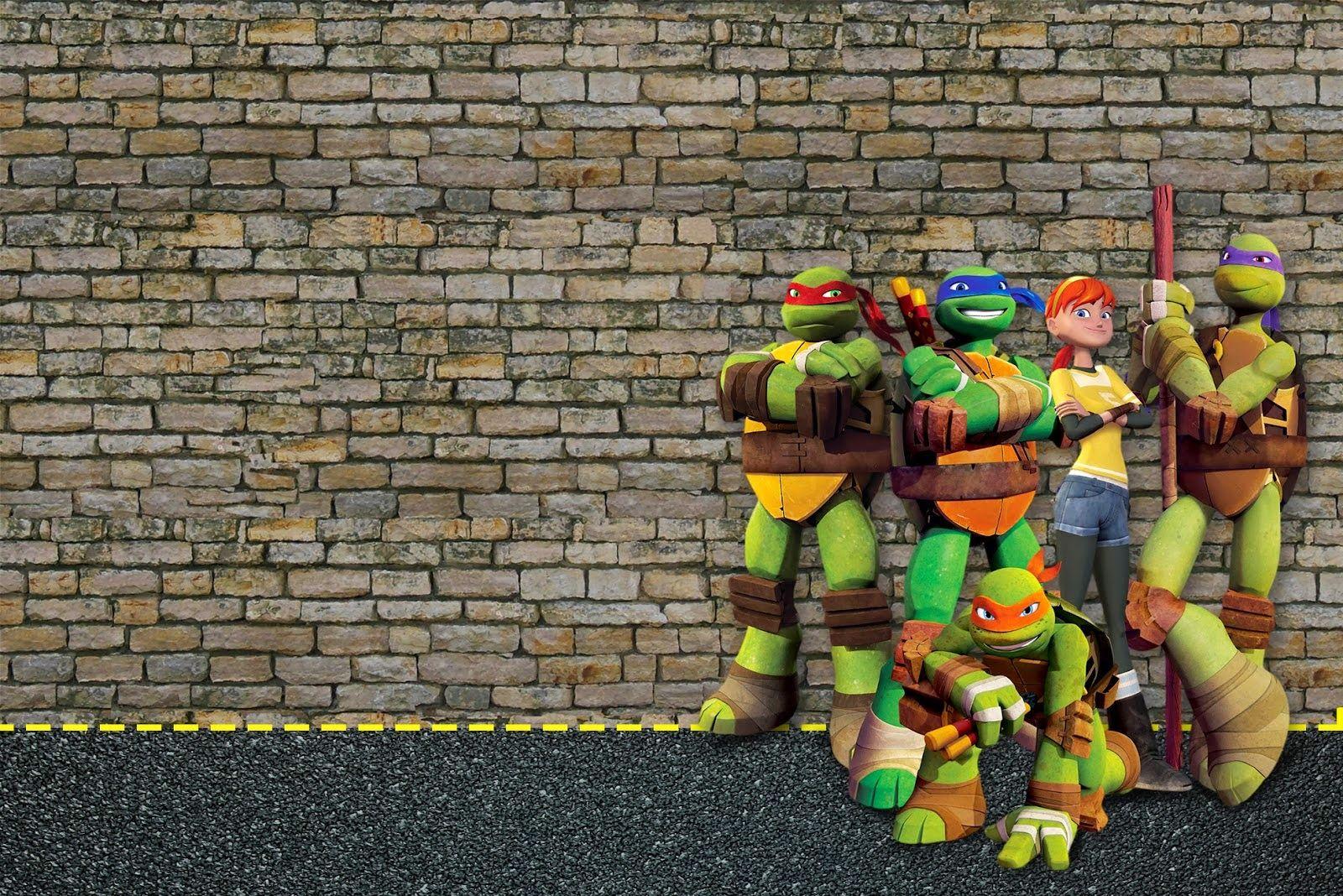 Ninja Turtles Party Invitations Template4 | Invitations | Pinterest ...
