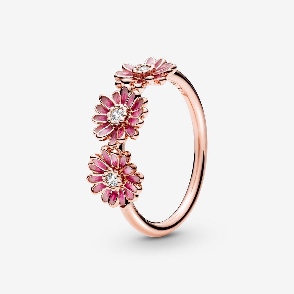 Pandora ékszer Pink százszorszép rozé gyűrű - | Pandora pink ...