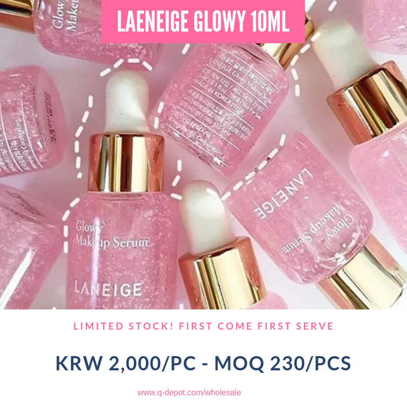 Laneige Glowy Makeup Serum 10ml [Sample] Limited Stock