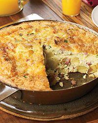 Potato Frittata with Prosciutto and Gruyère