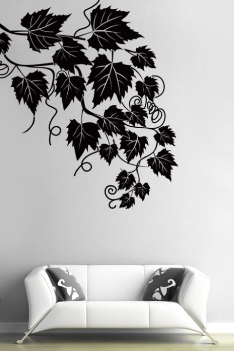 IvyWall Decals Ivy Wall Wall Decals And Ivy -  custom pontoon decals