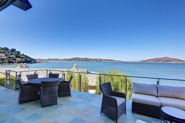 The home is near downtown Sausalito and the ferry. Photo: Jason Wells Photography