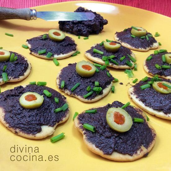 Tapenade Varias Recetas Receta De Divina Cocina Pate De Aceitunas Tapenade Tapas Y Aperitivos