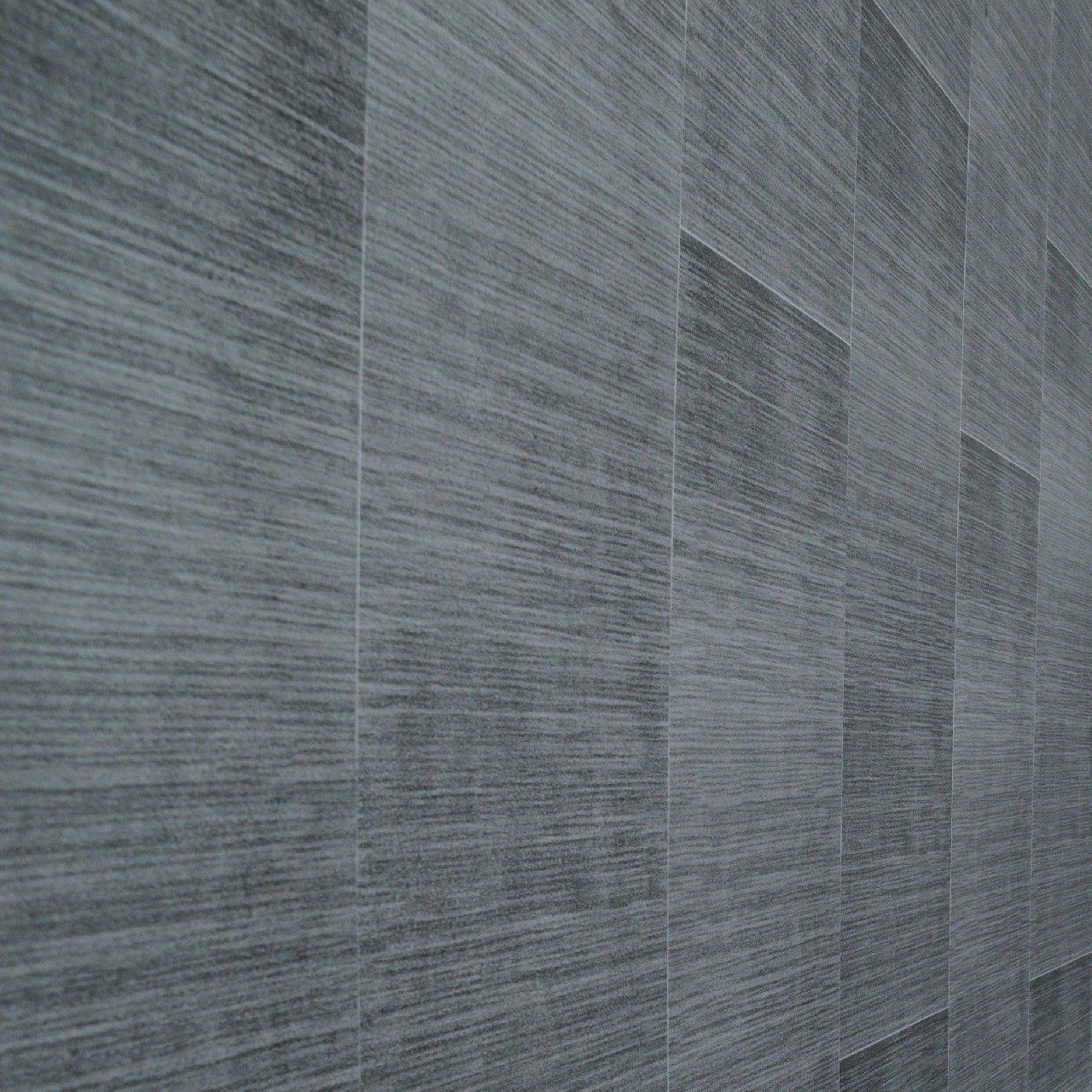 Dark grey bathroom wall panels - large tile effect - small