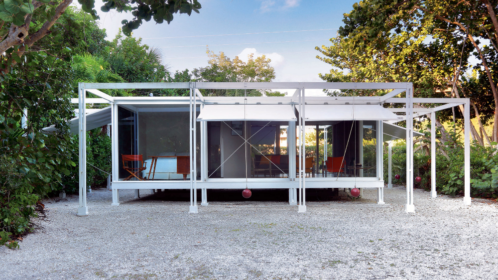 Paul Rudolph S Walker Guest House In Coastal Florida Goes