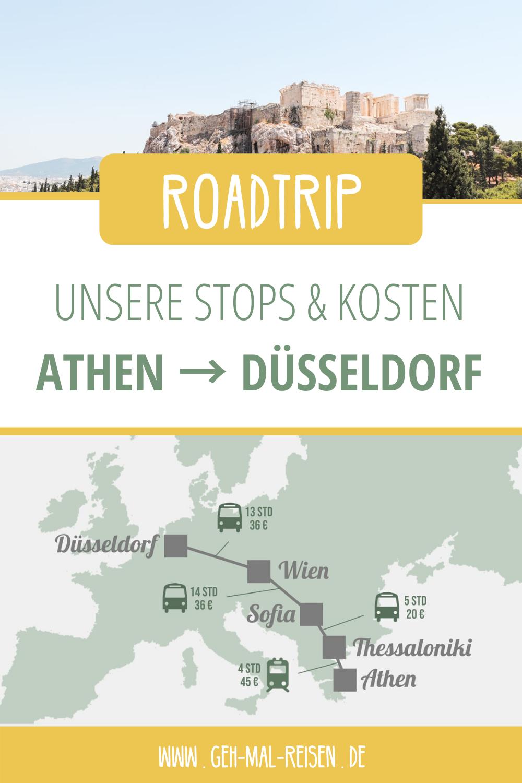 Athen Dusseldorf Uber Landweg Mit Bus Bahn Reisen Geh Mal Reisen
