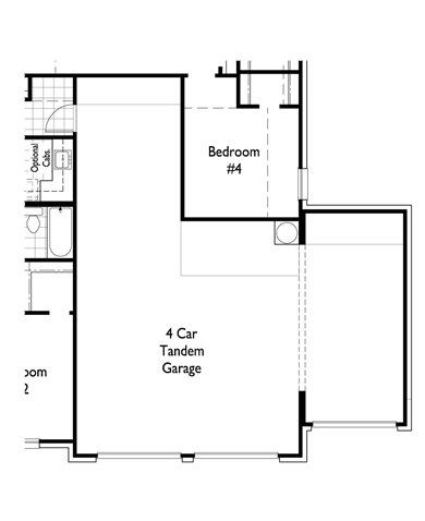 Home Plans With 4 Car Tandem Garage 1 Story Google Search House