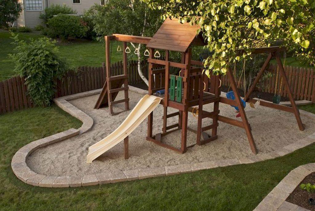 Creative And Cute Backyard Garden Playground For Kids 1