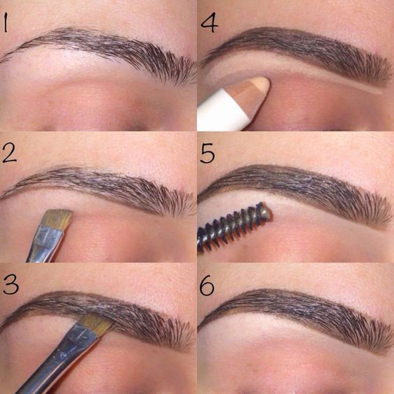 5 Pasos Para la Depilación de Cejas La ceja, Delineados y De ti - tipos de cejas