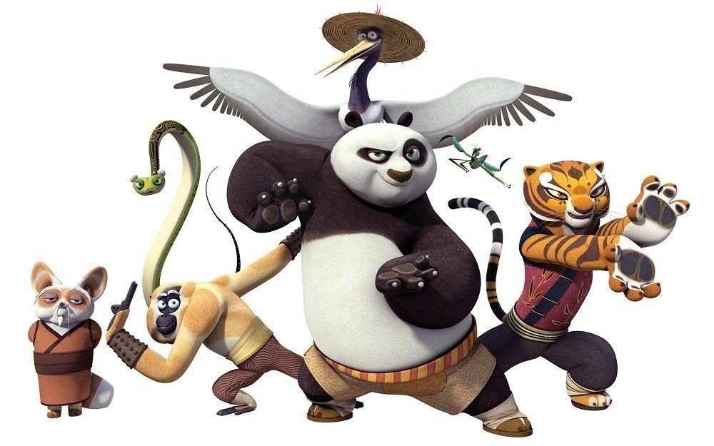 Kung Fu Panda Kids Room Wall Art Poster Unique Made In America  PERSONALIZE FREE