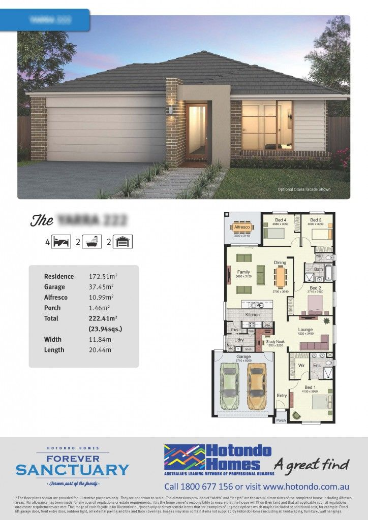 Marcoola 269 Brochure Pdf Bungalow House Plans Modern House Floor Plans House Floor Plans Modern house plan and elevation pdf