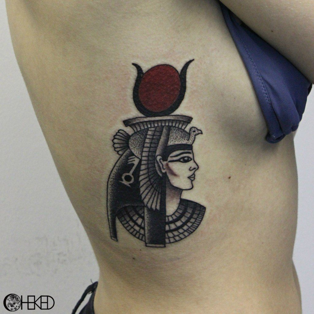 Goddess Tattoo For Woman: Mysterious Egyptian Mythology Tattoos