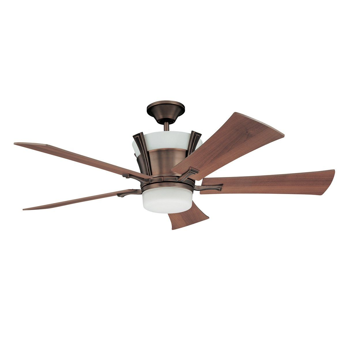 Kendal+Lighting+AC16052-WRI+7+Light+Meridian+Ceiling+Fan,+Wrought+ ...