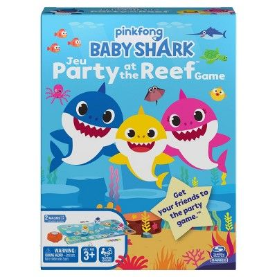 Baby Shark Journey To The Reef Game Baby Shark Cards Against Humanity Game Baby Christmas Outfit