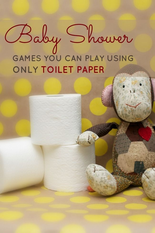 Baby Shower Games You Can Play with Just a Roll of Toilet Paper - Spaceships and Laser Beams