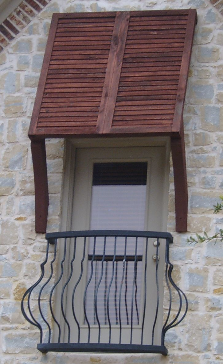 Bahama shutters mounted like an awning Exterior Shutters