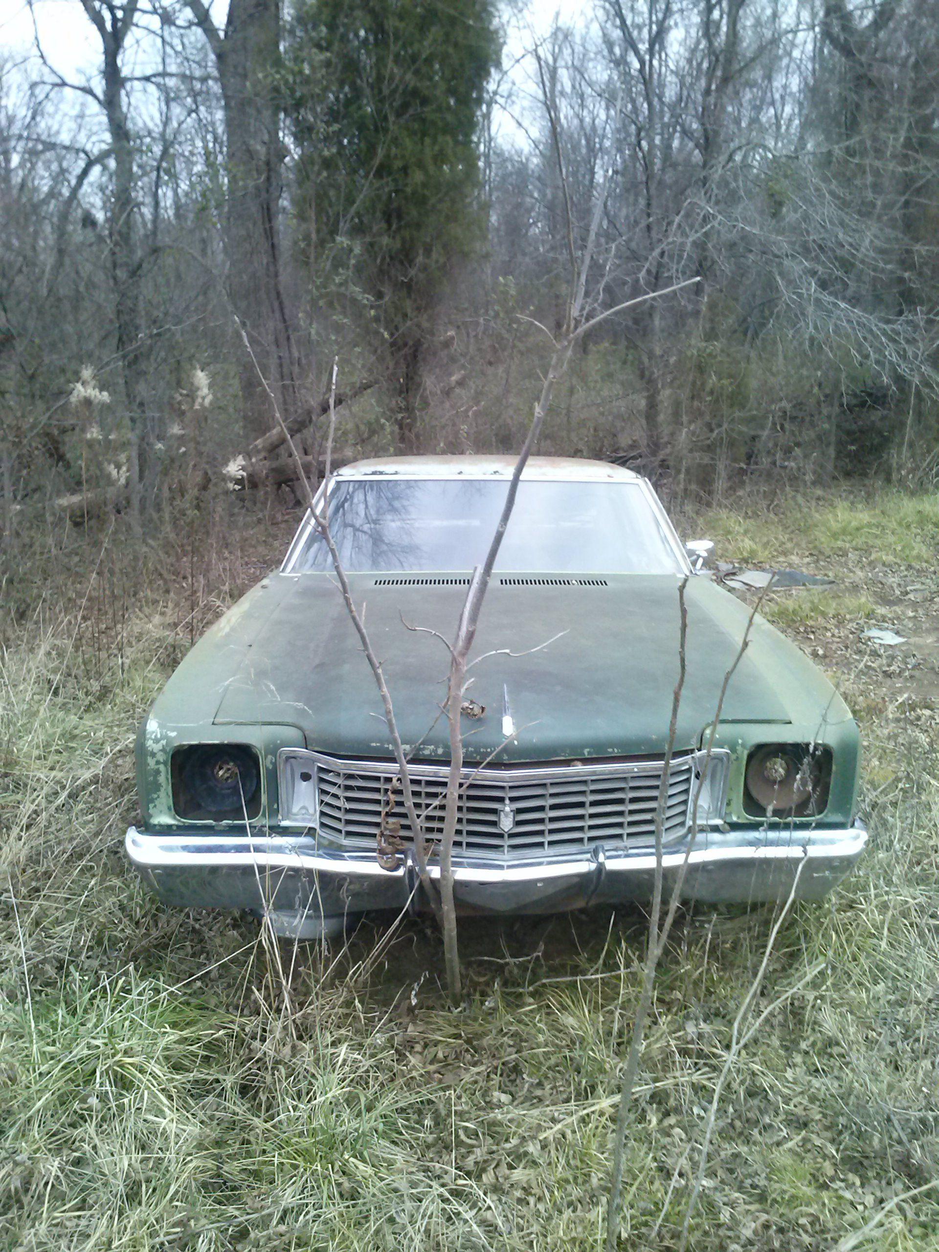First Generation Chevrolet Monte Carlo Sitting Alone Found In Van