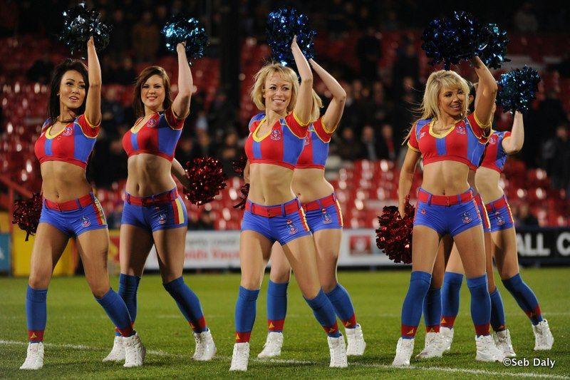Palace cheerleaders crystal