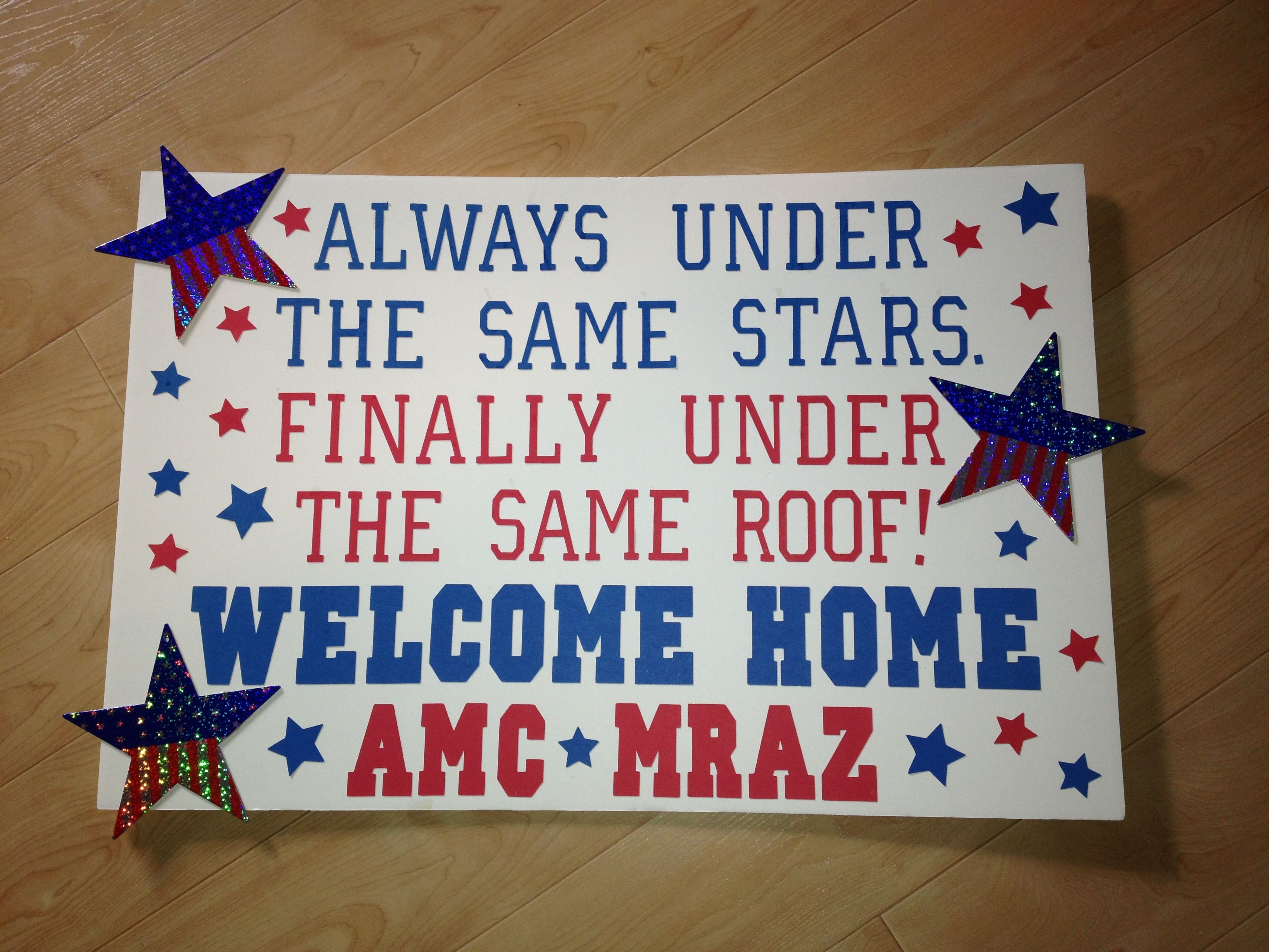 Best 25 poster ideas ideas on pinterest graphic design for Welcome home troops decorations