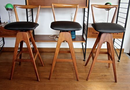 TH Brown Bar Stools 2